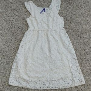 Seraphine Lace Maternity Dress, Size 2